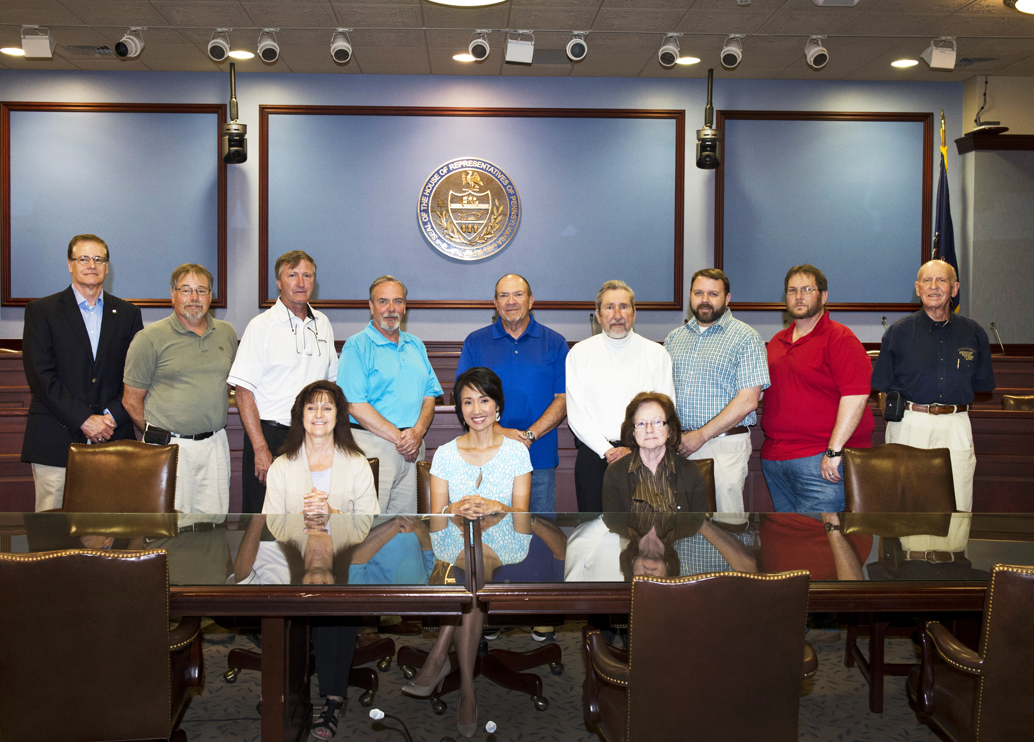 2015 Public Works Week trip to PA House of Representatives